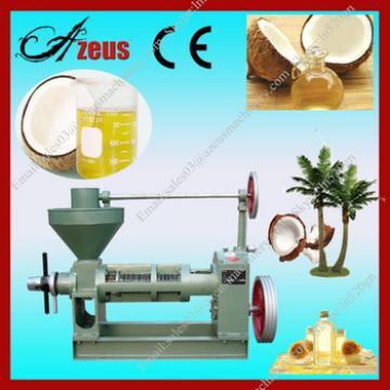 Azeus CE hot selling screw oil press / coconut oil press machine with good price
