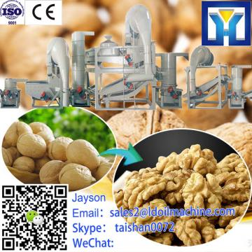 Green almond peeler machine for green peel