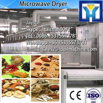 Microwave dryer equipment for drying fruits and vegetables with large capacity
