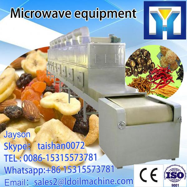 Microwave defrosting aquatic products equipment #1 image